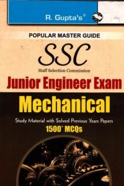 SSC Junior Engineer Mechanical
