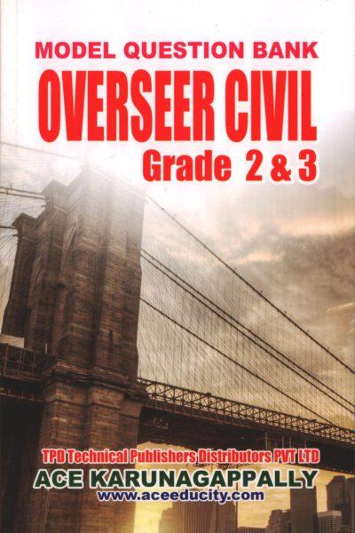 Model question paper Overseer Grade 2& 3