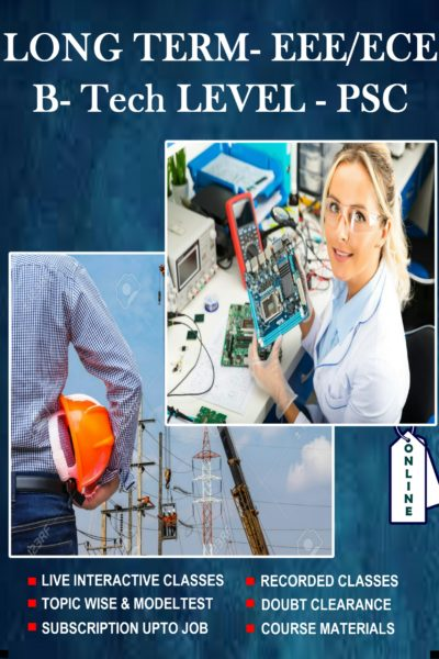 Electrical /Electronics long term Btech (PSC level)