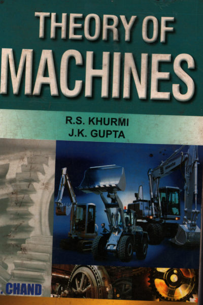 Theory of Machines   clearance sale